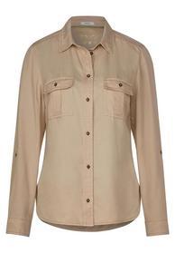 Tencel Blouse Shirt Collar - 12145/light sand