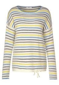 TOS Striped Pullover