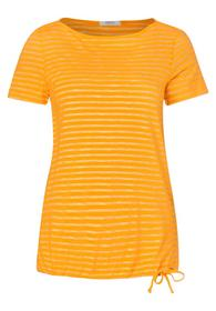 NOS Fine Stripe T-Shirt - 22050/mango yellow