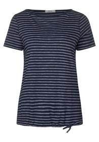 NOS Fine Stripe T-Shirt - 20128/deep blue