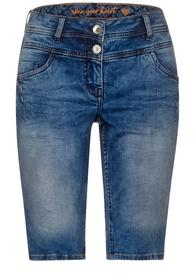 Mittelblaue Denim-Shorts