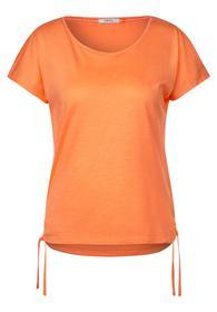 T-Shirt mit Cold Shoulder