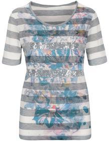 Staccato CLARINA Shirt mit Frontdruck und Pailletten