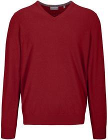 (S)NOS V-Pullover uni - 440/RED