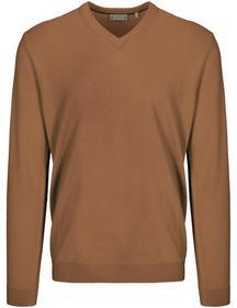 (S)NOS V-Pullover uni - 716/CAMEL