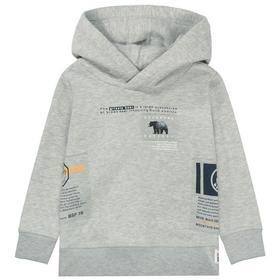 Kn.-Kap.Sweatshirt - 808/WARM GREY MEL.