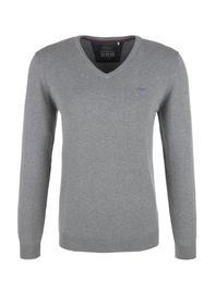 PULLOVER LANGARM - 9730/blend grey