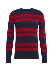 modern striped sweater