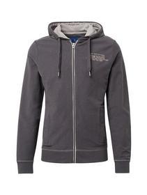 sweat jacket with hood