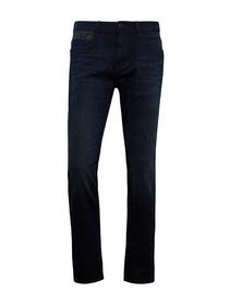 Tom Tailor JOSH - 10175/coated blue black denim