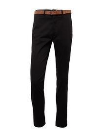 Slim Chino with belt - 29999/Black