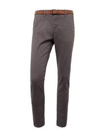 Slim Chino with belt - 10383/Eiffel Tower