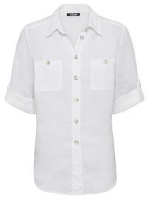 Blouse Woven Short Sleeves