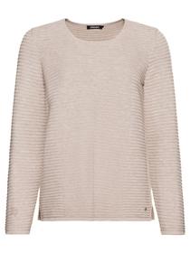 Pullover Long Sleeves - 11025/Pebble Melange