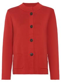 Cardigan Long Sleeves - 20123/Red Maple