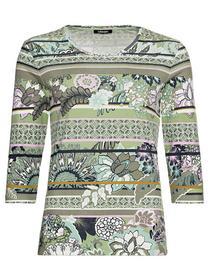 T-Shirt Long Sleeves - 50188/Green Pea