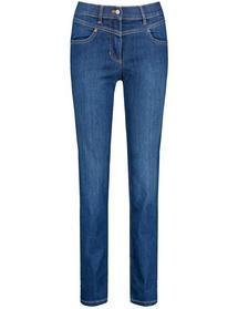 Hose Jeans lang