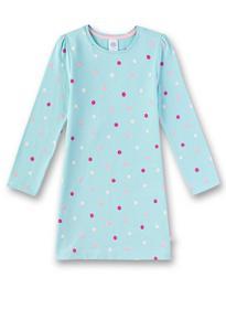 Sleepshirt allover - 5568/angel blue
