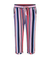 Pants 3/4, white pebb