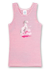 Shirt w/o sleeves stripe