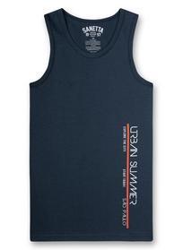 Shirtw/o sleeves w.print