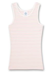 Shirt w/o sleeves,stripes