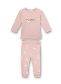 Pyjama long, Uni w. motif