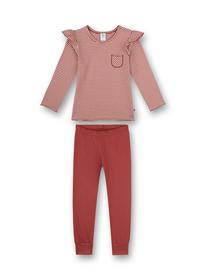 Pyjama long, stripes