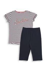ALICE YG NW         pyjama 1/2 - E100/WHITE