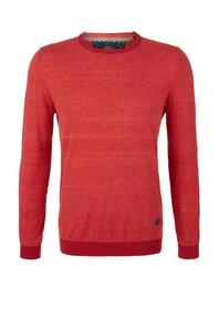 PULLOVER LANGARM - 36G0/poppy seed