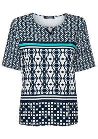 Shirt Nizza mit dekorativem Ausschnitt