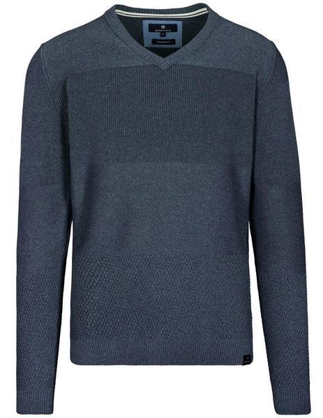 Staccato BASEFIELD V-Pullover mit Struktur-Muster