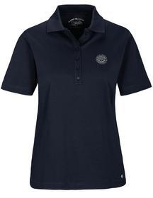 Staccato CLARINA Poloshirt mit Strasssteinchen-Applikation