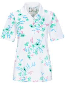 (S)NOS Poloshirt,1/2 Arm,Blume - 500/500 GRUEN COM