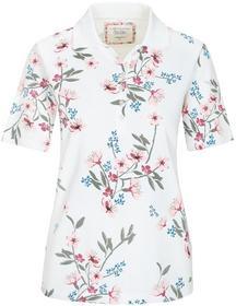 (S)NOS Poloshirt,1/2 Arm,Blume - 410/410 ROSE COMB