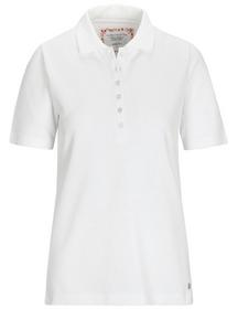 (S)NOS Poloshirt,1/2 Arm,Pique - 100/100 WEISS