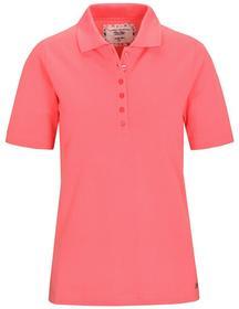 (S)NOS Poloshirt,1/2 Arm,Pique - 414/414 FLAMINGO