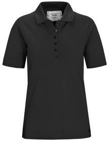 (S)NOS Poloshirt,1/2 Arm,Pique - 900/900 SCHWARZ