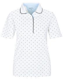 (S)NOS Poloshirt Punkte - 103/103 WHITE