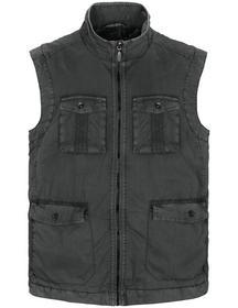 Vest (Garment Dyed) - 800/ANTHRA