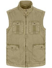 Vest (Garment Dyed) - 200/SAHARA