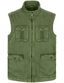 Vest (Garment Dyed)