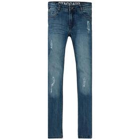 Kn.-Destroyed -Jeans,Skinny