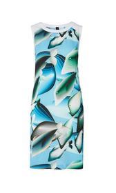 Kleid mit Whale-Print
