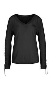 Blusenshirt, black