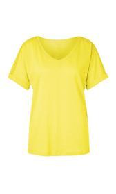 T-Shirt aus Leinenmischung