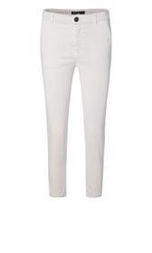 Satin-Jeans im Chino-Style