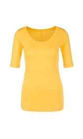 Basic-Shirt aus Baumwolle
