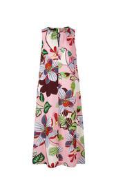 Stilvolles Maxikleid mit Blumen-Print