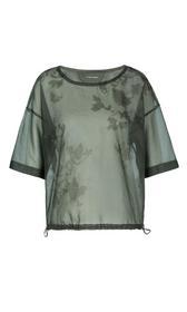 Shirt aus Organza